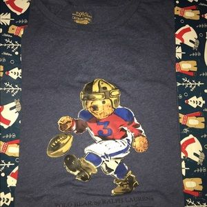 Men's XL Polo Ralph Lauren bear tee